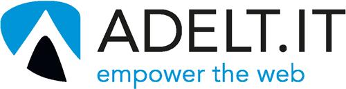 Das Logo von Adelt IT - empower the web.